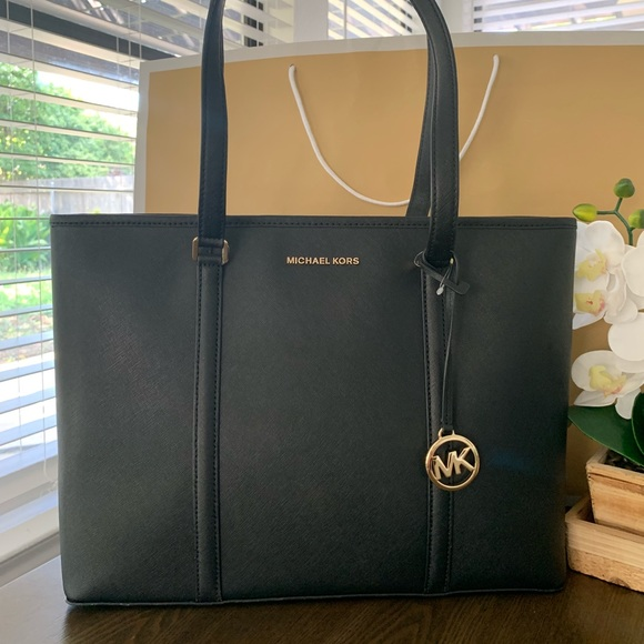 MICHAEL Michael Kors Handbags - Michael Kors Sady Large Top Zip Tote